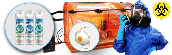 СИЗ и оборудование для защиты от микроорганизмов и вирусов
