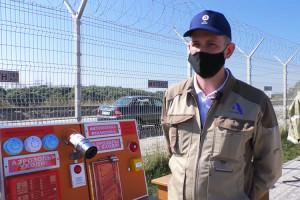 Мастер-класс по пожарной безопасности на Курской АЭС
