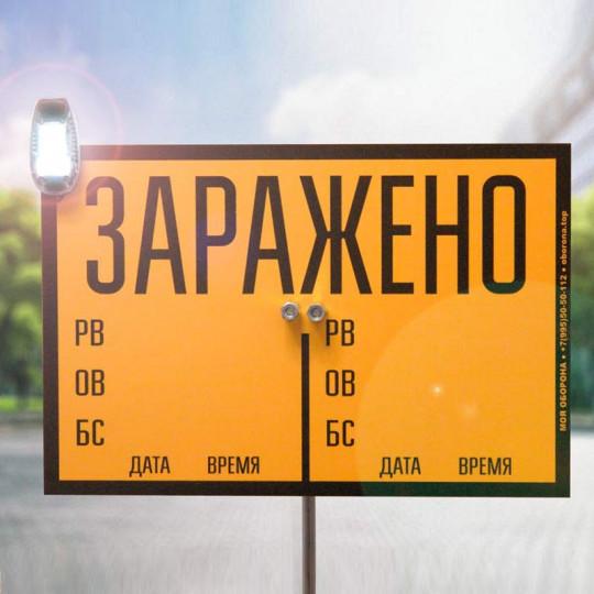 Комплект знаков ограждения КЗО-1 М