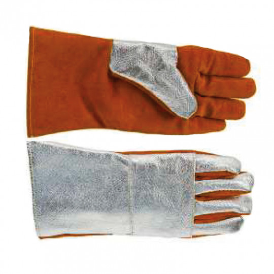 Перчатки алюминизированные термостойкие