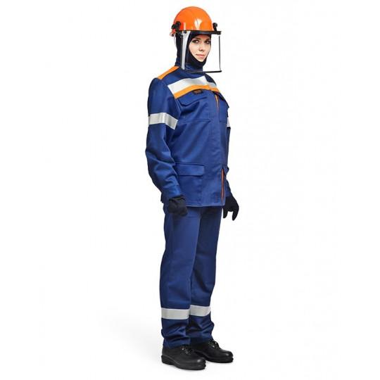 Костюм летний для защиты от электрической дуги СП02, 31 кал/см2