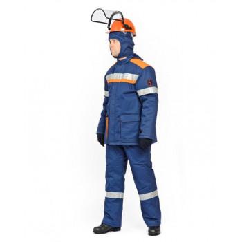 Костюм зимний для защиты от электрической дуги СП08-3/47В, 47 кал/см2