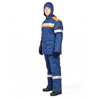 Костюм зимний для защиты от электрической дуги СП06-3/60В, 60 кал/см2