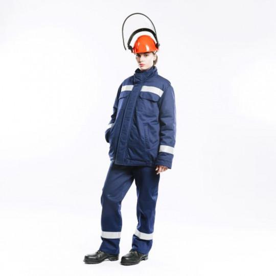 Куртка-накидка для защиты от электрической дуги СПн09-ДV, 52 кал/см2