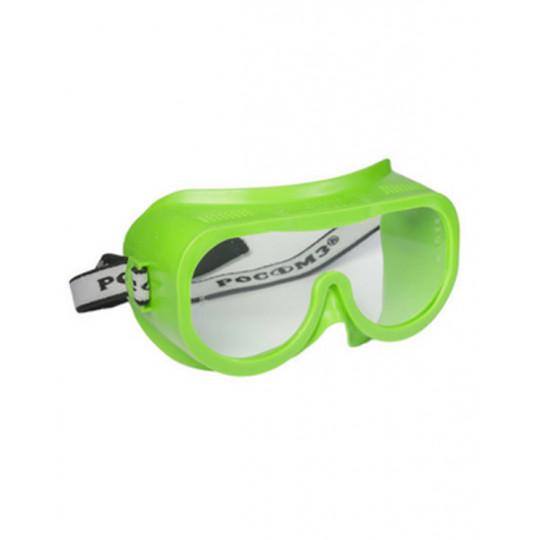 Очки защитные закрытые с прямой вентиляцией ЗП8 ЭТАЛОН StrongGlass (PC)