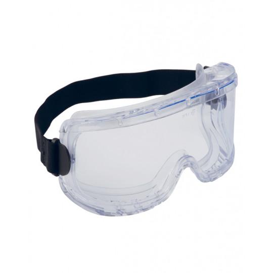 Очки Элит химостойкие, закрытые, непрямая вентиляция, прозрачные линзы с AF покрытием (п)