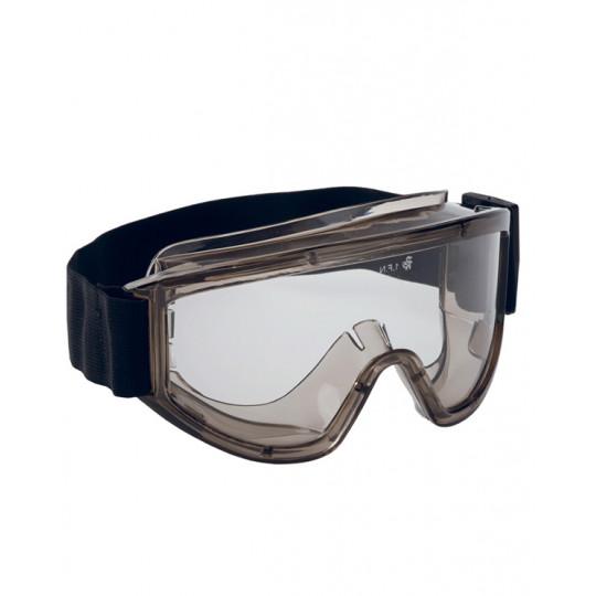 Очки Премиум закрытые, герметичные, прозрачные линзы с AF-AS покрытием (п)
