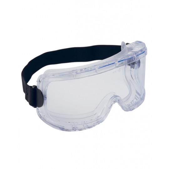 Очки Элит химостойкие, закрытые, герметичные, прозрачные линзы с AF покрытием (п)