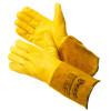Спилковые и кожаные перчатки и краги