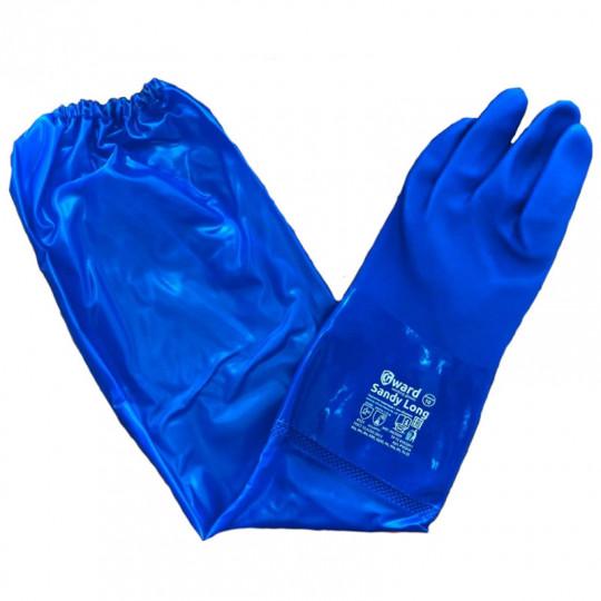 Химически стойкие перчатки с длинным рукавом Gward Sandy Long