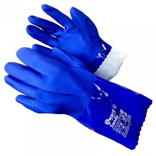 Химически стойкие перчатки с песочным покрытием Gward Sandy
