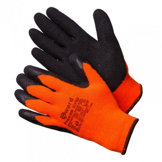 Перчатки утепленные акриловые с текстурированным латексом Gward Freeze Grip