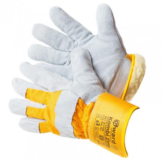 Зимние утепленные комбинированные перчатки Gward Kombi Zima