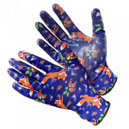 """Садовые перчатки с расцветкой """"Лисы"""" Gward fiesta Foxy"""