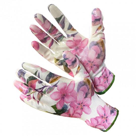 Садовые перчатки в розовых тонах Gward fiesta Pinky