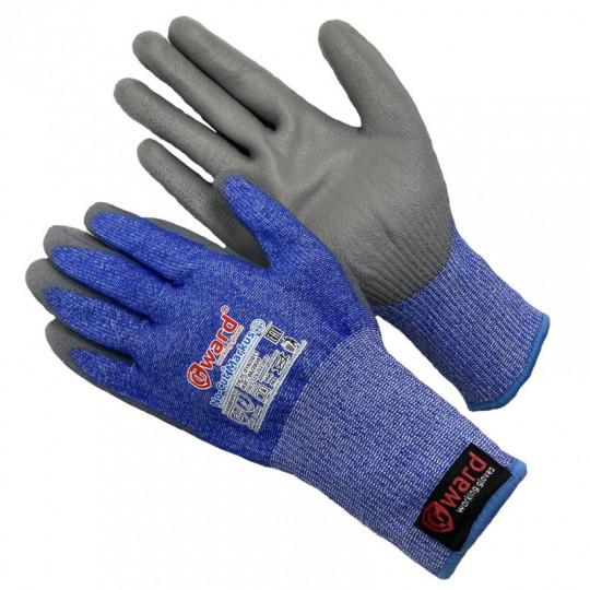 Противопорезные перчатки 5-го класса с полиуретаном Gward No-Cut Markus