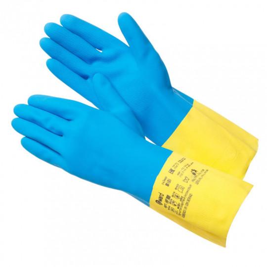 Химстойкая перчатка латекс+неопрен Gward HP300