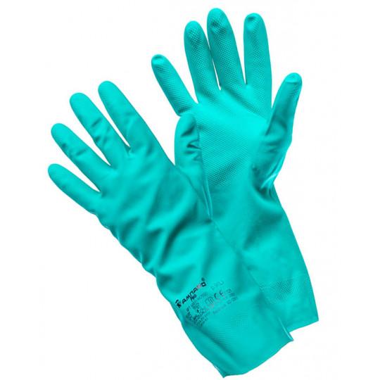 Перчатки Риф нитриловые резиновые (т)