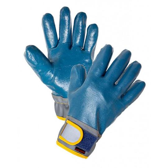 Перчатки антивибрационные нитриловые Вибростат 03 (т)