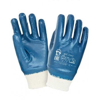 Перчатки х/б с полным нитриловым покрытием