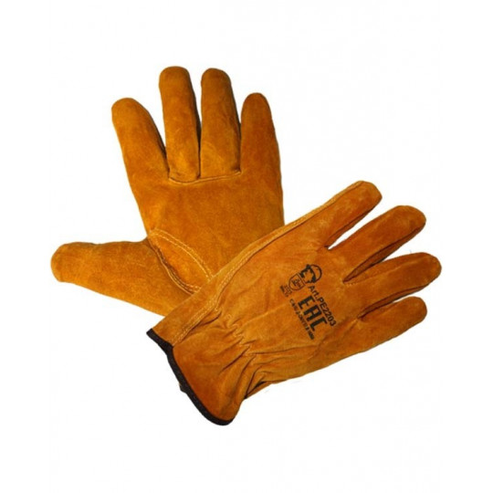 """Перчатки """"Драйвер"""" желтые"""