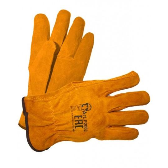 """Перчатки """"Драйвер Люкс"""" желтые"""