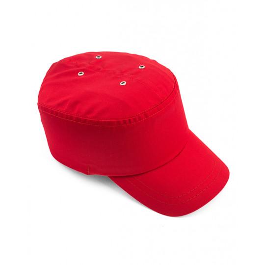 Каскетка (бейсболка) защитная Престиж красная (п)